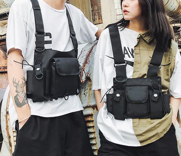 Tactical bag outdoor sports backpack backpack chest bag / Techwear Club / Techwear