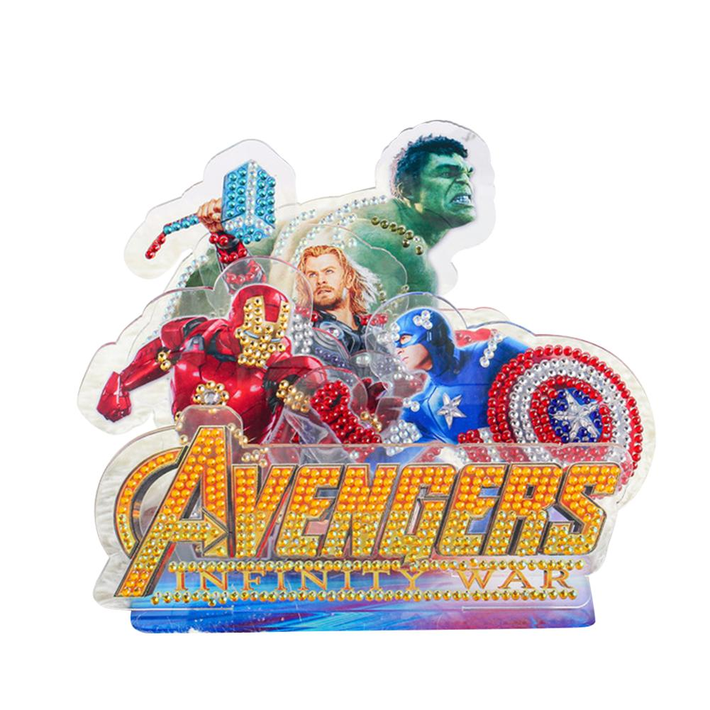 Peggybuy coupon: Legendary Hero- 5D DIY Craft-Sticker