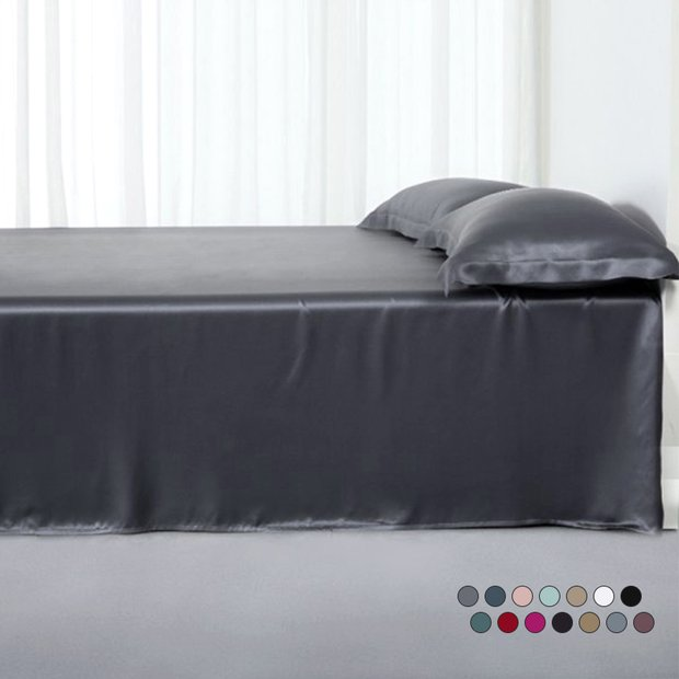 25 Momme Silk Flat Sheet、Real Silk Life