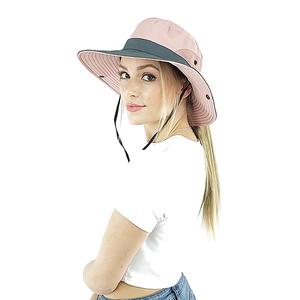 ponytail sun hat for women