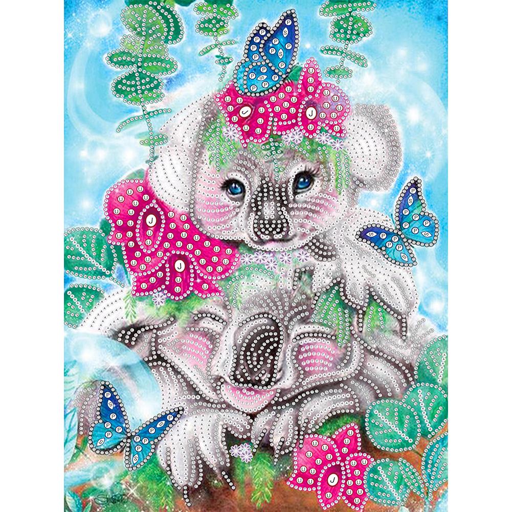 30*40CM - Special Shaped Diamond Painting - Koala, 501 Original
