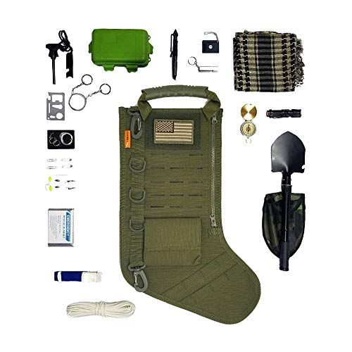 Gearrific Tactical Christmas Stocking Pre-Filled with survival gear! Hands  down one of the best Christmas Gi… | Survival gift, Christmas gifts for  husband, Tactical