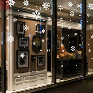 Christmas SChristChristmas Snowflake Window Clingsmas Snowflake Window Clingsnowflake Window Clings