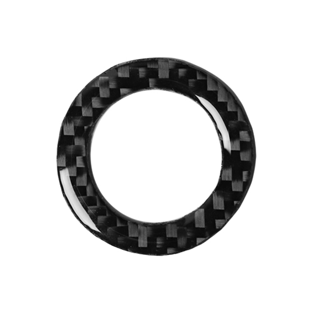Carbon Fiber Ignition Key Ring Cover Trim Sticker for Ford Mustang 09-13, 501 Original, Cesdeals  - buy with discount