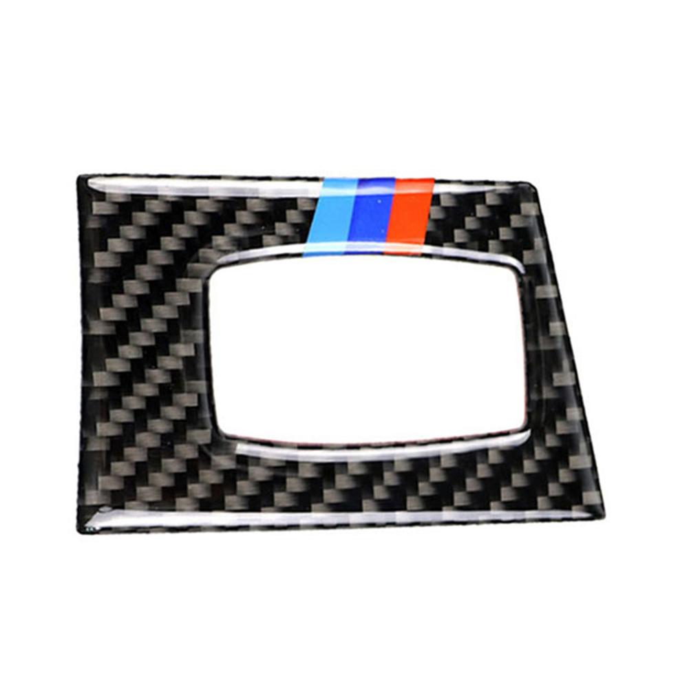 Carbon Fiber Key Hole Frame Cover Trim for BMW E92 M3 07-13 LHD (Tri Color), 501 Original, Cesdeals, White  - buy with discount