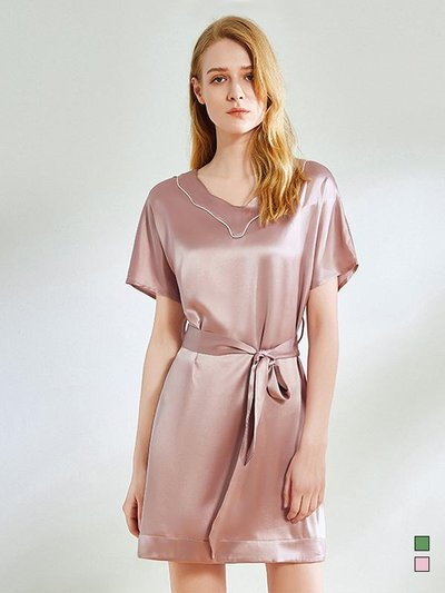 22 Momme 2020 Design Silk Nightgown | Two Colors Selected、Real Silk Life