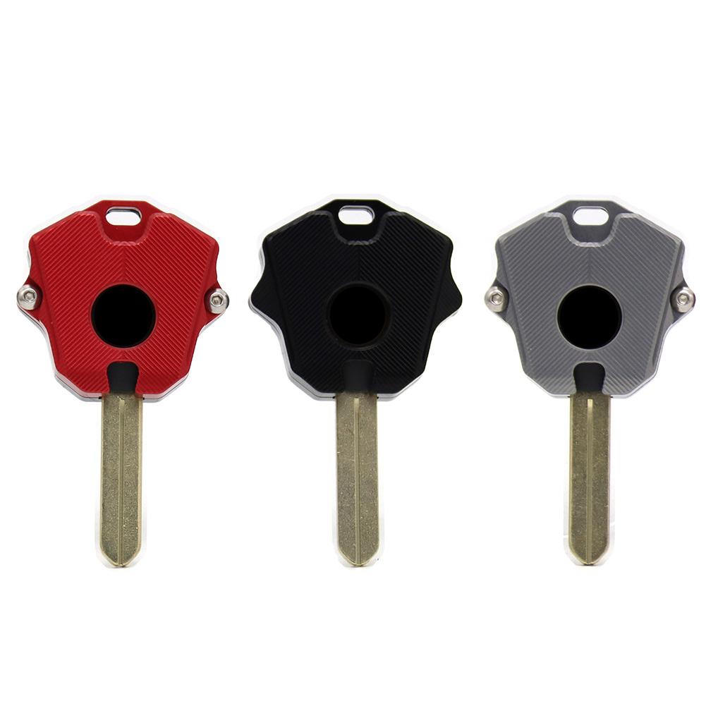 CNC Key Case Cover Shell with Blank for HONDA CBR650R CB650R CB650F CBR650F, 501 Original, Cesdeals, Black  - buy with discount