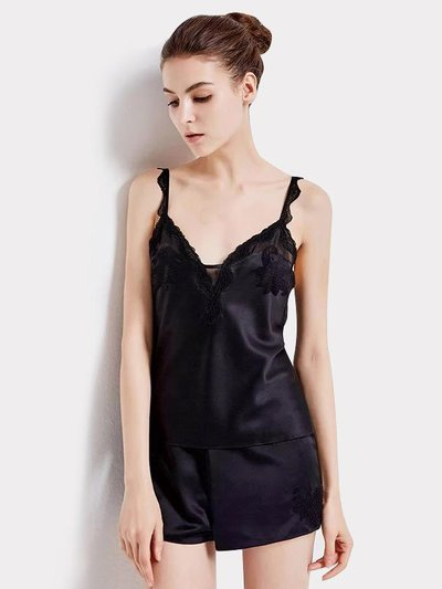 19 Momme Women's Short Silk Camisole Set、Real Silk Life