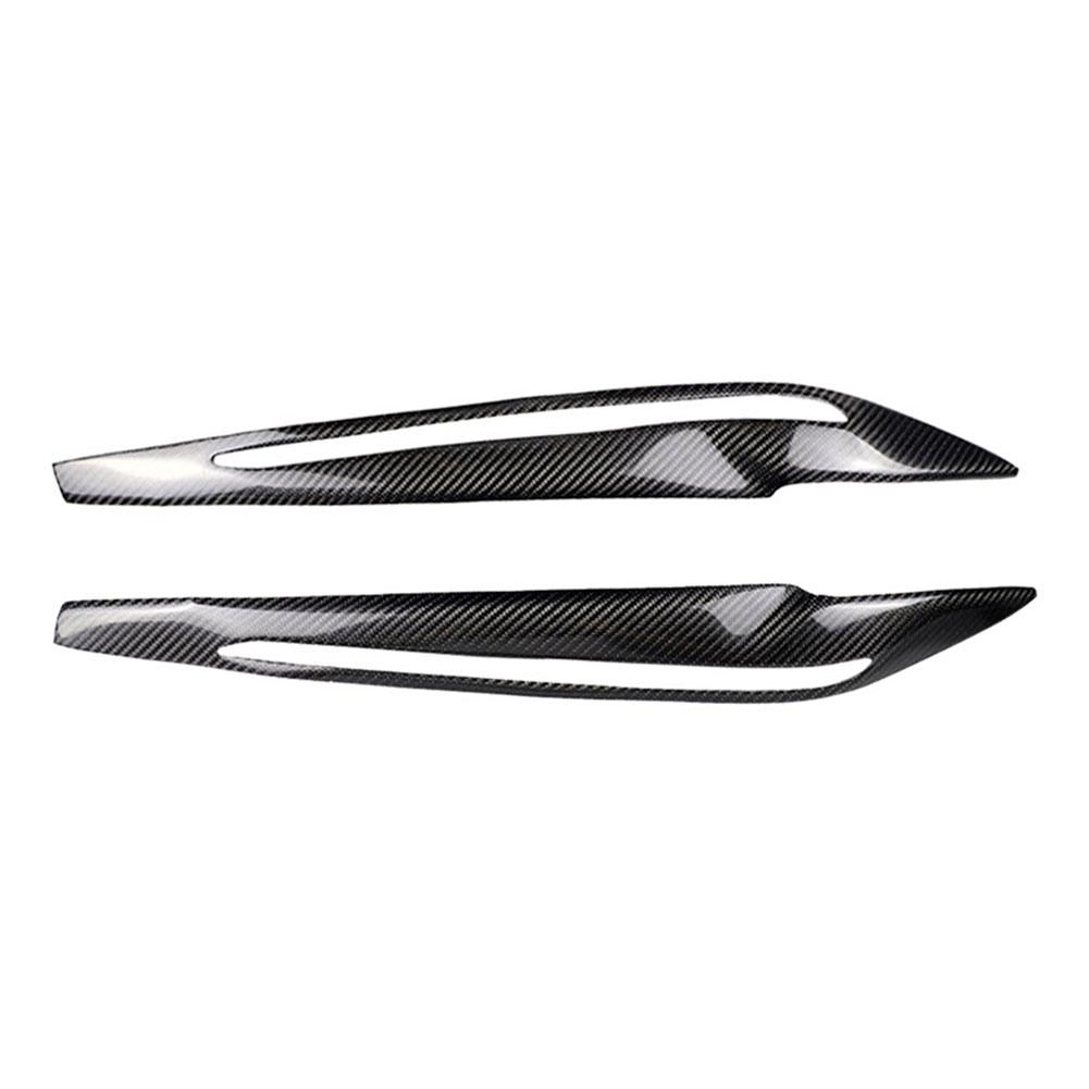Carbon Fiber Headlight Eyelids Compression Molded for BMW F15 X5 2014-2018, 501 Original, Cesdeals  - buy with discount
