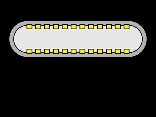 File:USB Type-C.svg - 维基百科,自由的百科全书