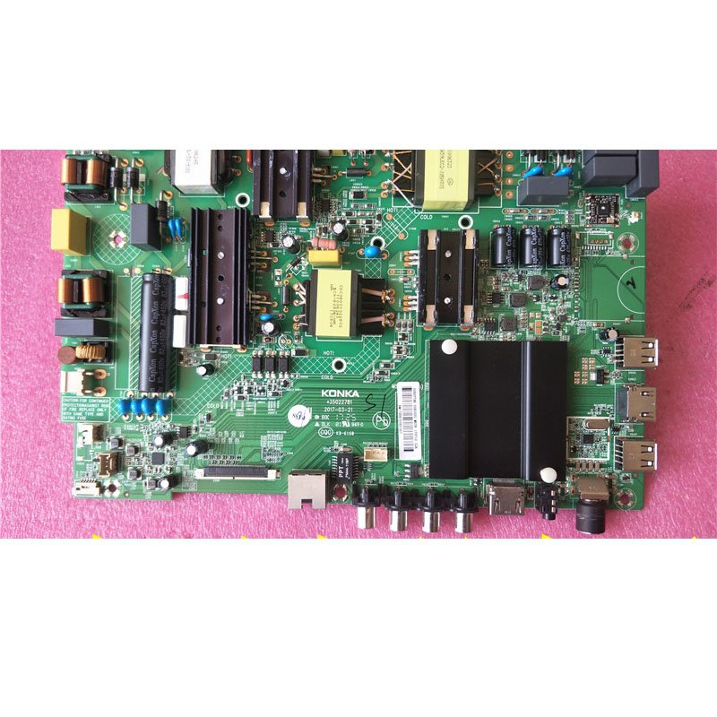 Konka Led55k55u5 Motherboard 35022781 with Screen 0080ytak Panda Screen - Cakeymall