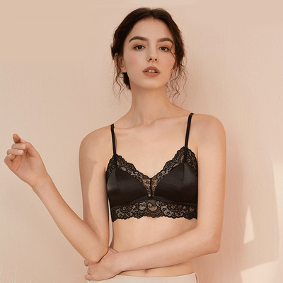 Silk Sexy Lace Bralette (Multi-Color Selected)、Luxury Silk Life