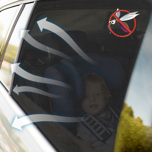 rear side window sunshade
