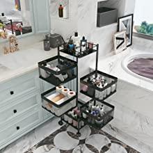 bathroom storge organizera