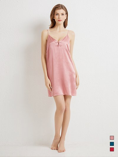 19 Momme 2020 Sexy Design Silk Nightgown | Three Colors Selected、Real Silk Life