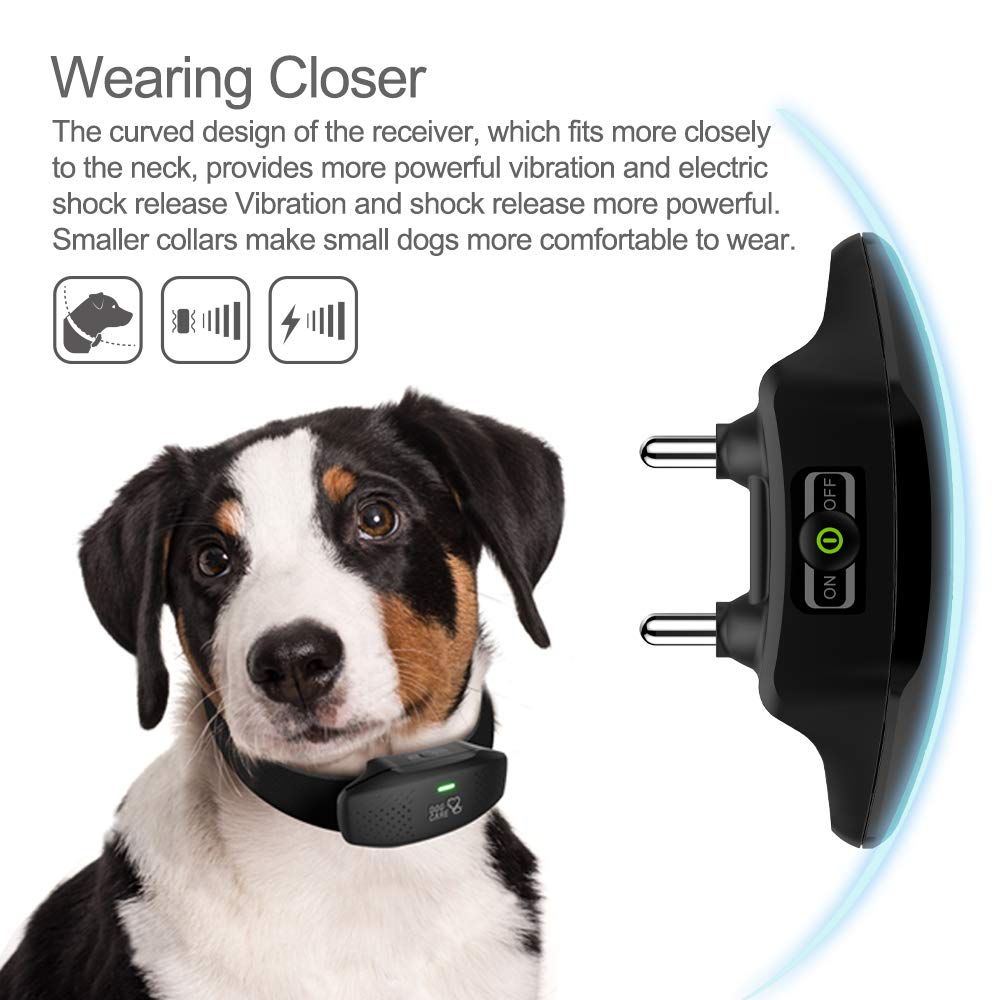 Dog Training Collar Enhanced Rechargeable Dog Shock Collar W 3 Training Modes Beep Vibration And Shock Waterproof Training Collar Up To 1000ft Remote Range 0 99 Shock Levels Dog Training Set