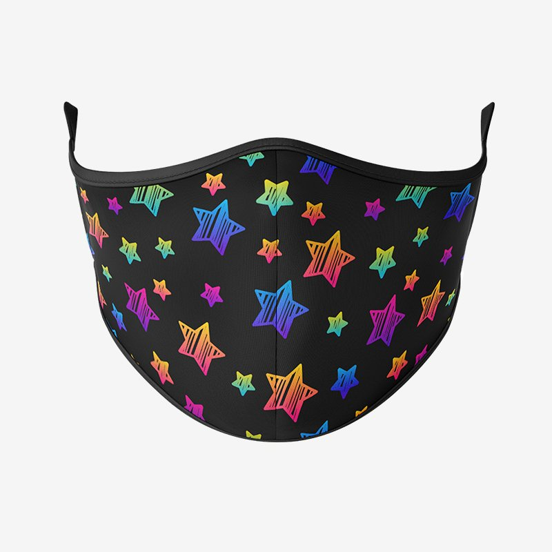 Twinkle Pattern Reusable Face Mask-Maskup