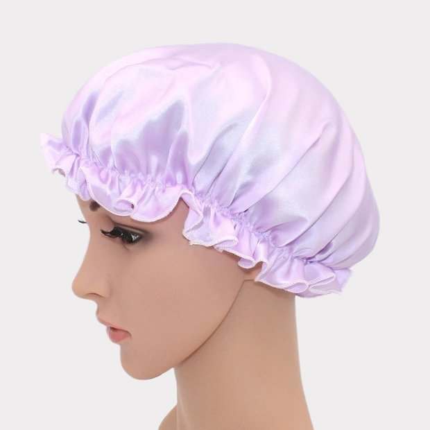 19 Momme Concise Silk Sleep Cap、REAL SILK LIFE