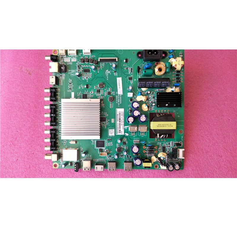 Changhong 43q1f Motherboard Juc7.820.00121070 with LG Screen M430F14-E1-L - Cakeymall