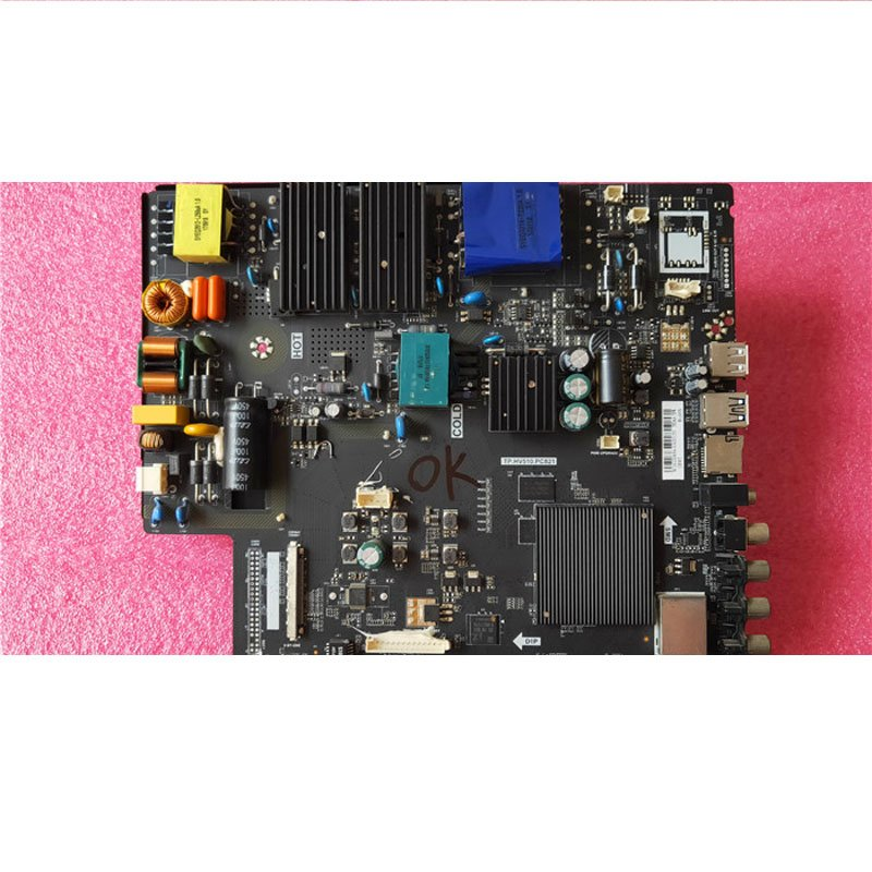 Lehua 49ax3000 Motherboard Tp. Hv510.pc821 with Screen DU49-1000 ST4851D03-3 - Cakeymall