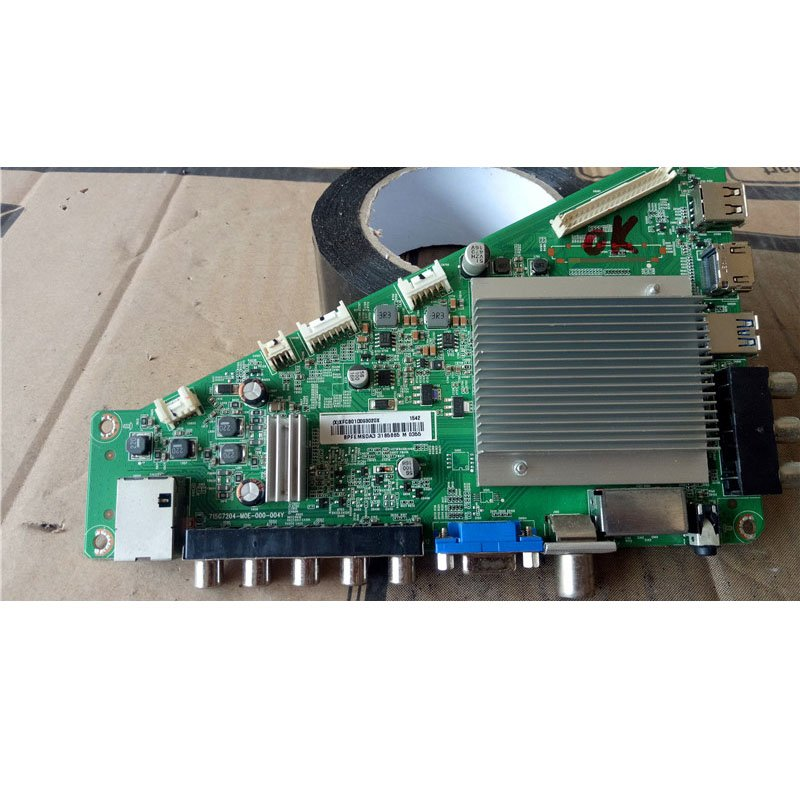 Philips 55pff5650/T3 Main Board 715g7204-m0e-000-004y Screen TPT550J1-HVN06 - Cakeymall