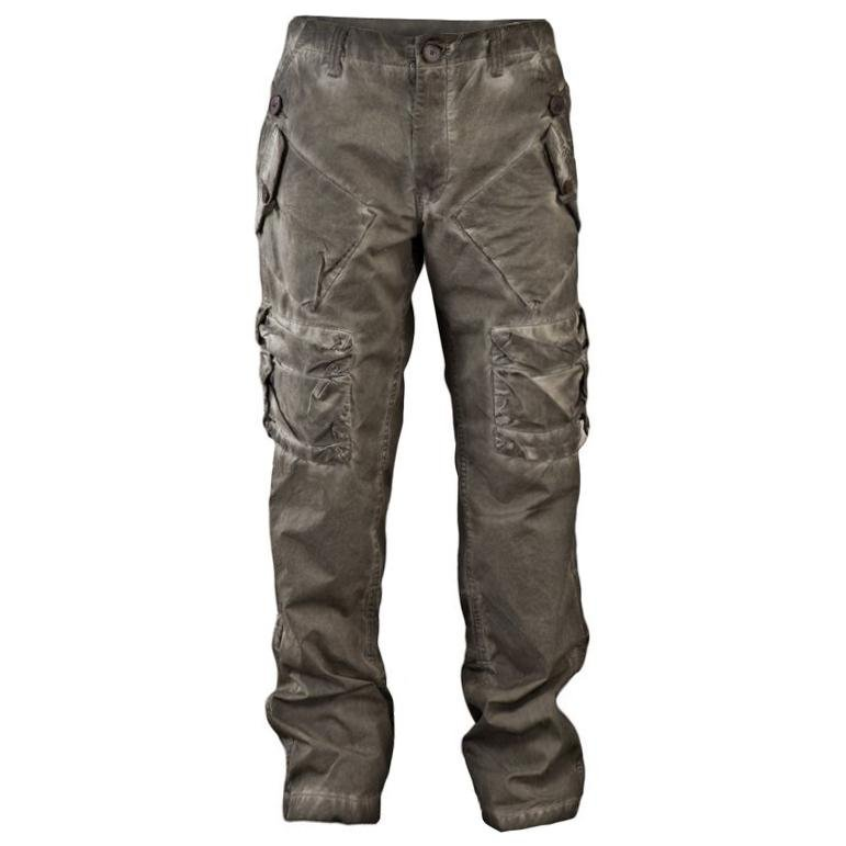 Mens Outdoor Big Pocket Distressed Trousers / [viawink] /