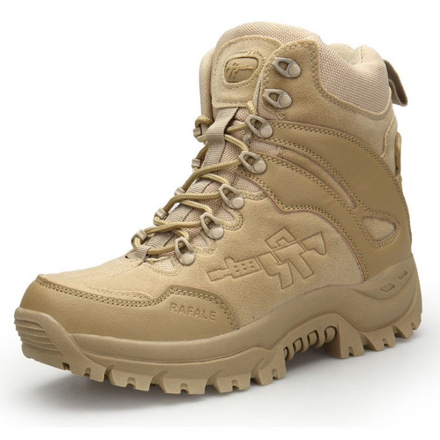 Mens outdoor hiking combat boots / [viawink] /
