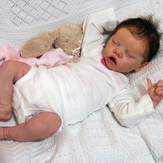 17 Full Silicone Rayna Reborn Twin A Baby Doll Girl