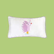 16 Momme Hedgehog Single Side Mulberry Silk Pillowcase For Kids Envelope Closure、Real Silk Life