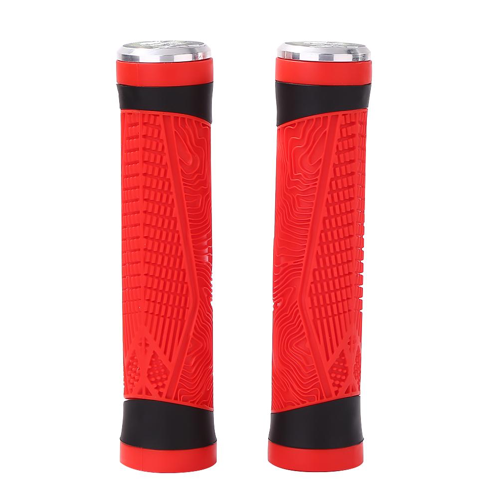 WAKE Non-slip Silicone Bicycle Grip MTB Mountain Bike Handlebar Grips Cover
