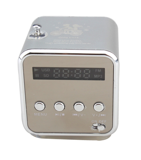 Micro SD TF Speaker Music USB Portable FM Radio Stereo Mini MP3 Player for PC, 501 Original, Cesdeals  - buy with discount