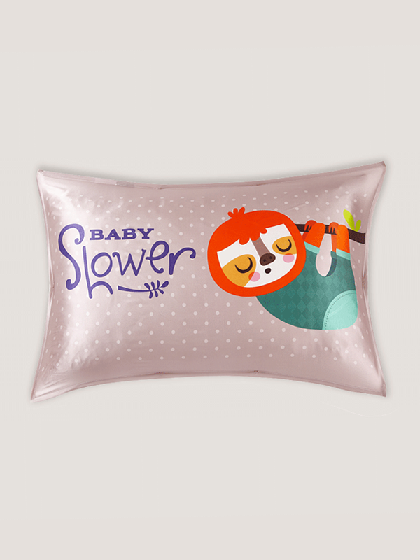 Baby Slower Single Side Silk Pillowcase、Real Silk Life