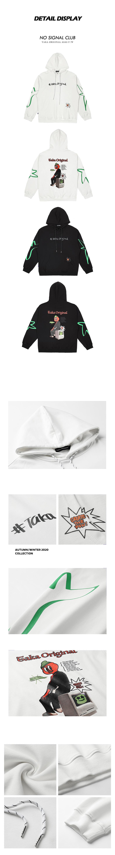 taka original 20aw retro graphic cotton unisex long sleeves hoodie