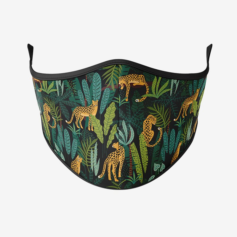 Jungle Pattern Reusable Face Mask-Maskup