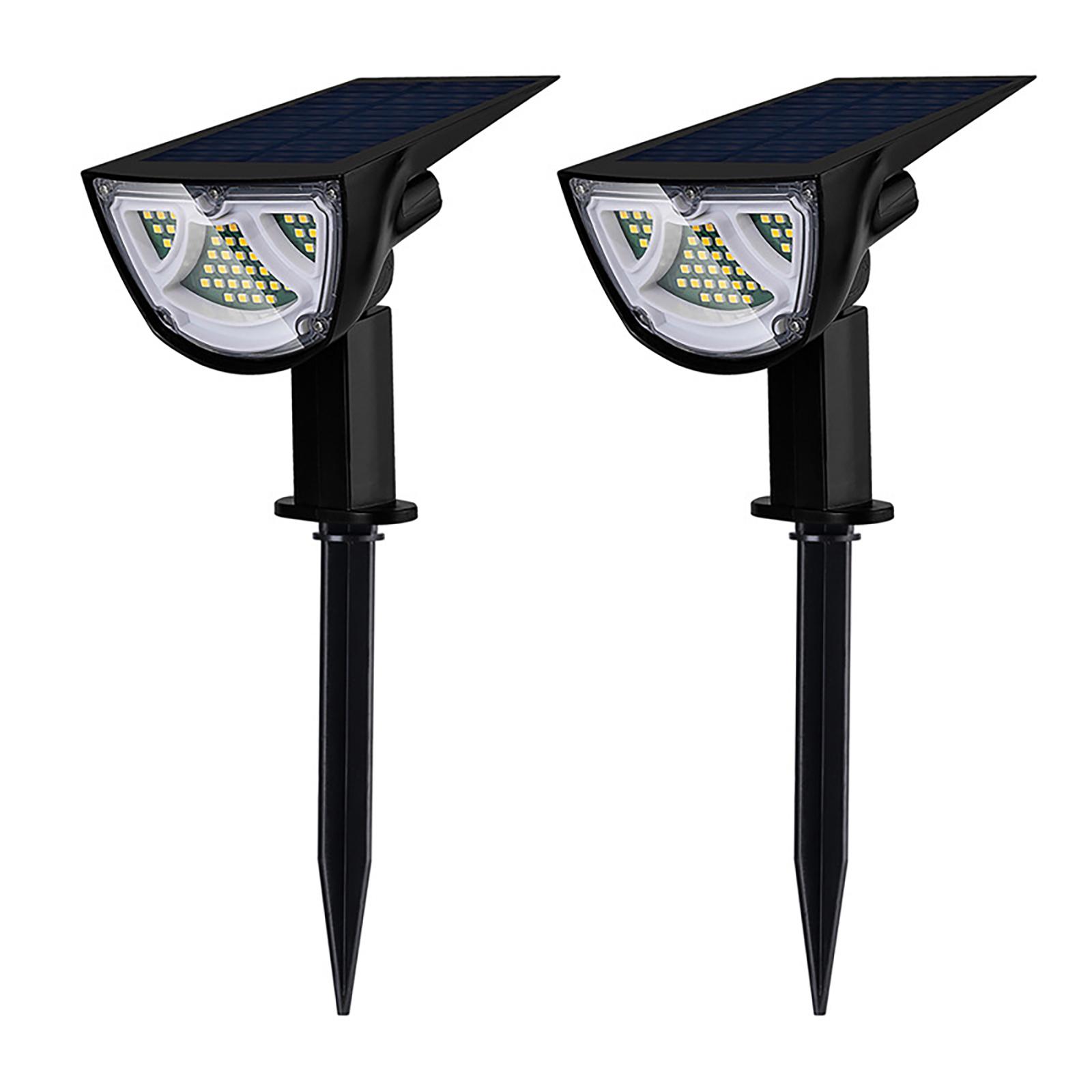 2 Packs LED Solar Spot, Waterproof-Landscape Ligjht, 501 Original, Cesdeals  - buy with discount
