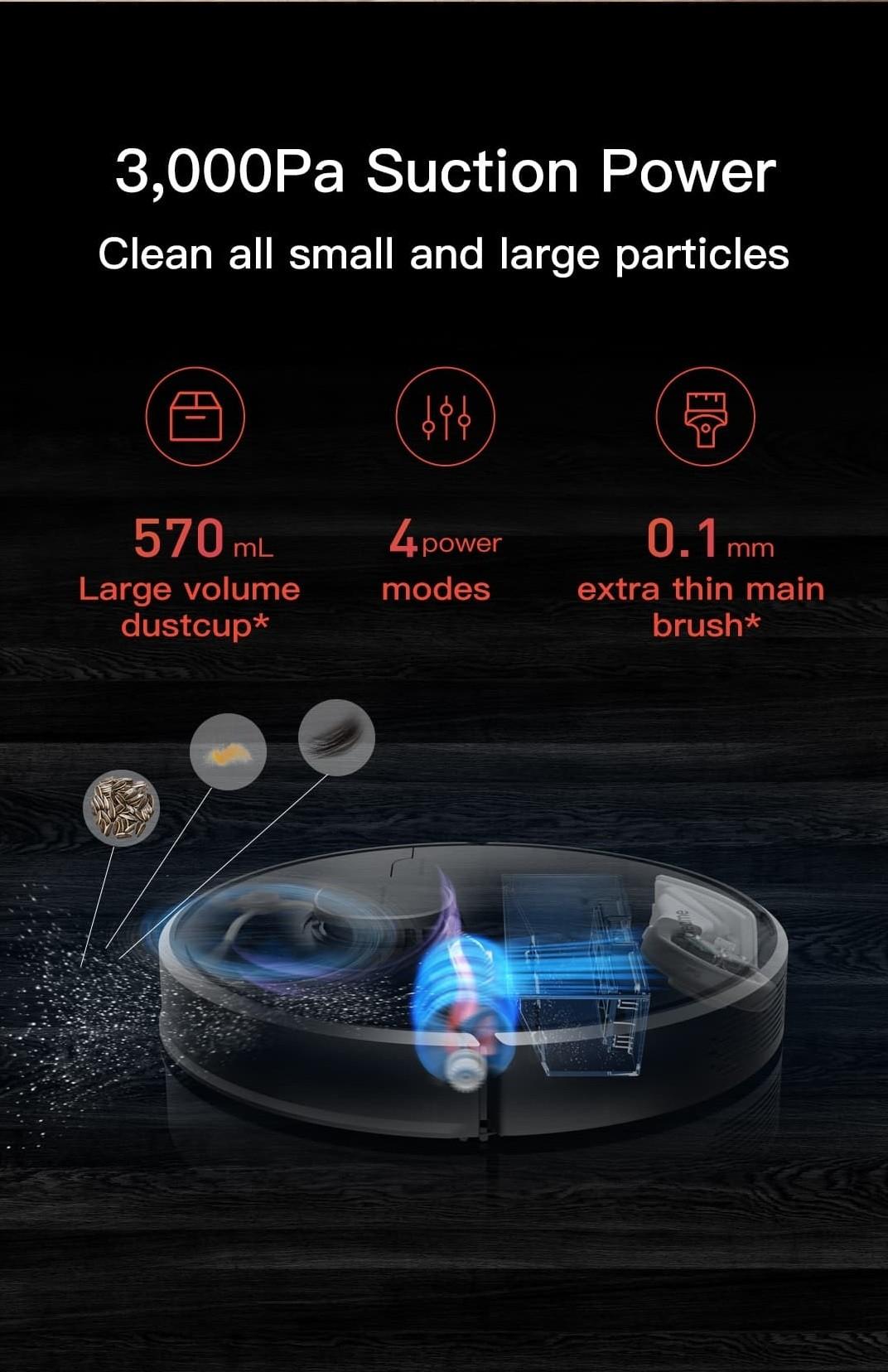 Dreame D9 Robot aspiradora-Versión global