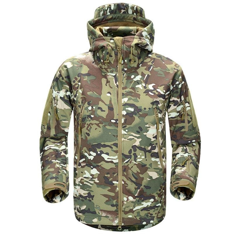 Outdoor Waterproof Shark Skin Tactical Jacket / [viawink] /