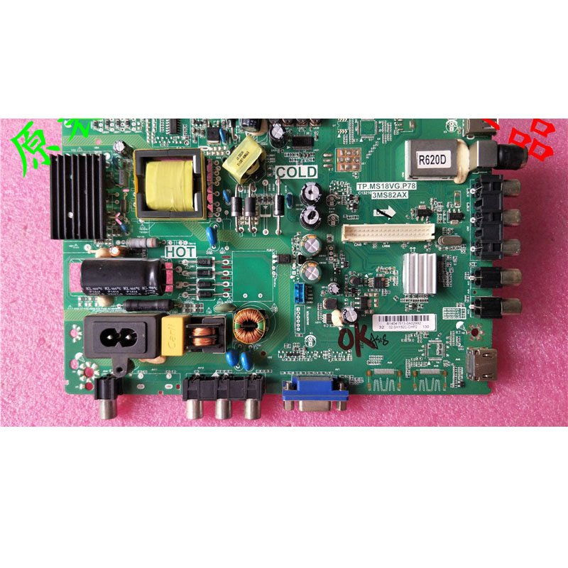 Pioneer LED-32B500 Mainboard Tp. Ms18vg.p78 3ms82ax with Screen Lvw320csdx - Cakeymall