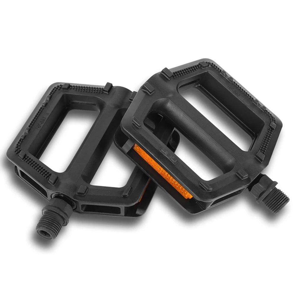 MTB Fahrradpedale Set Aluminium Flat Platform Fahrradpedal Anti Slip 1 Paar DE