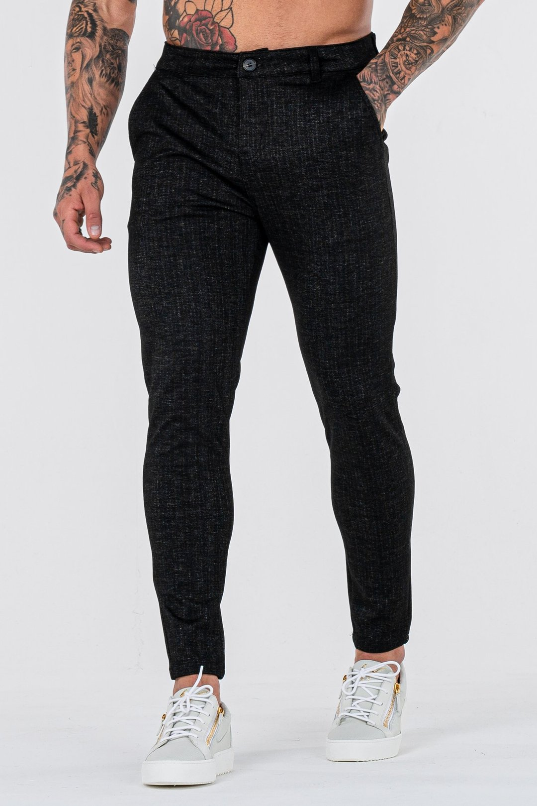 Atonlove™-THE NAXO TROUSERS - BLACKmysite