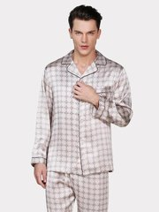 19 Momme Silk Pajamas Set for Men、Real Silk Life