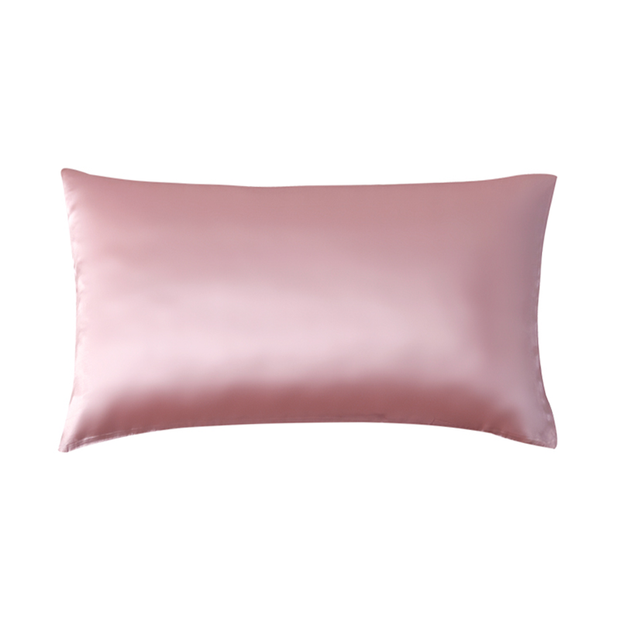 19 Momme Pink Single Side Mulberry Silk Pillowcase | Pillowcases 2pcs、Real Silk Life