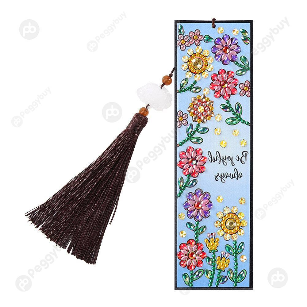 Peggybuy coupon: Color Flower-DIY Creative Diamond Bookmark