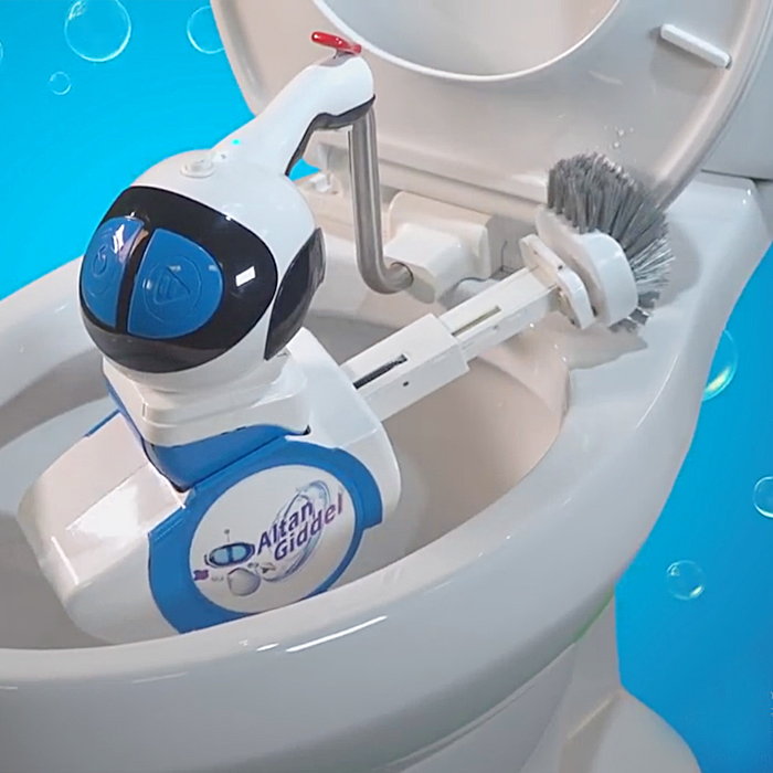 altan robotech usa giddel toilet cleaning robot