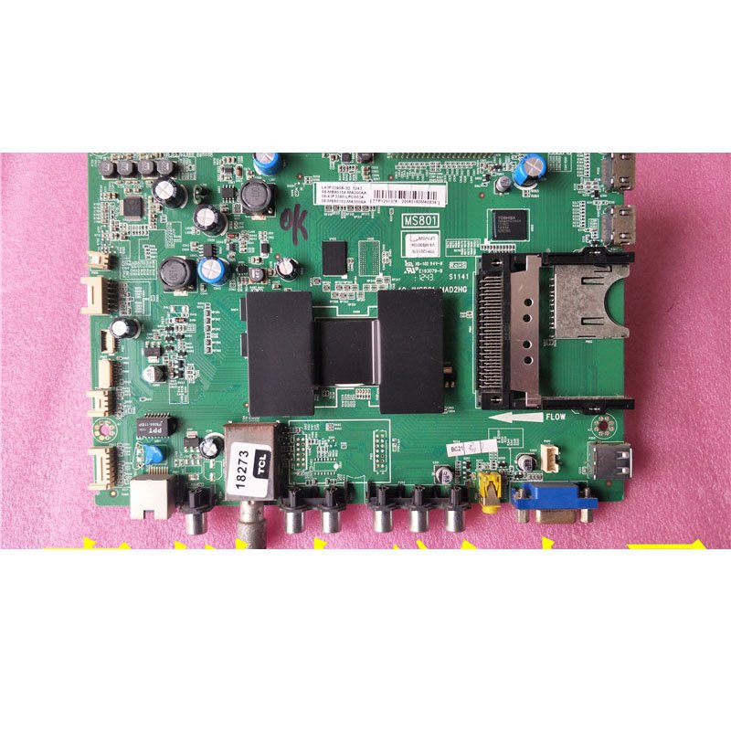 TCL L43F3390A-3D Mainboard 40-1ms801-mad2hg with Screen Lvf430sdal - Cakeymall