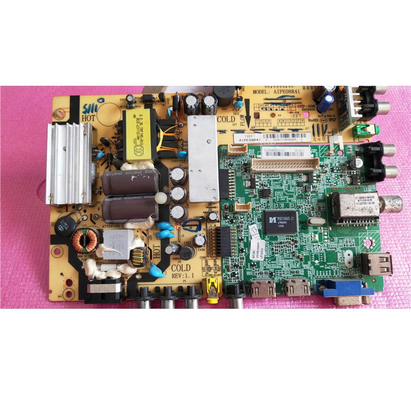 TCL L42f1570b Mainboard with Power Board 40-ms306p-mae2lg Screen T420hvn06 - Cakeymall