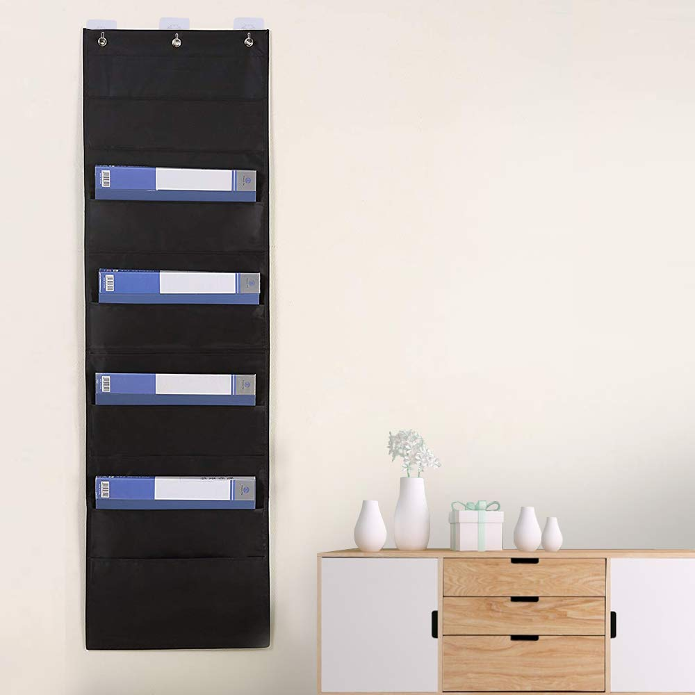 Hanging File Folders Organizer With 10 Pockets Perfect