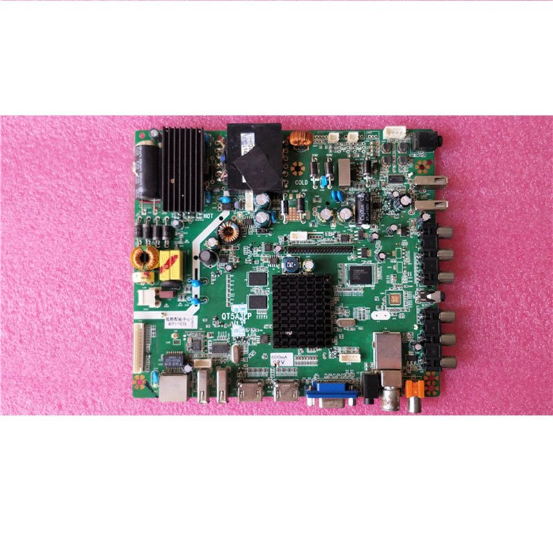 50 Inch LCD Motherboard QT5A3LP V1.1 75W-600MA 92V with Chi Mei Screen V500 - Cakeymall