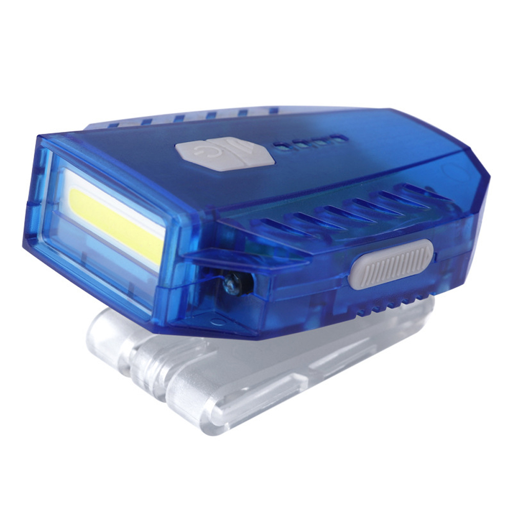 LED Sensor Headlight USB Rechargeable Clip-on Cap Outdoor Fishing Head Lamp, 501 Original  - buy with discount