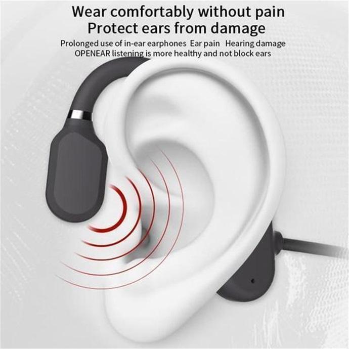 60% OFF! Bone Conduction Headphones - Bluetooth Wireless Headset